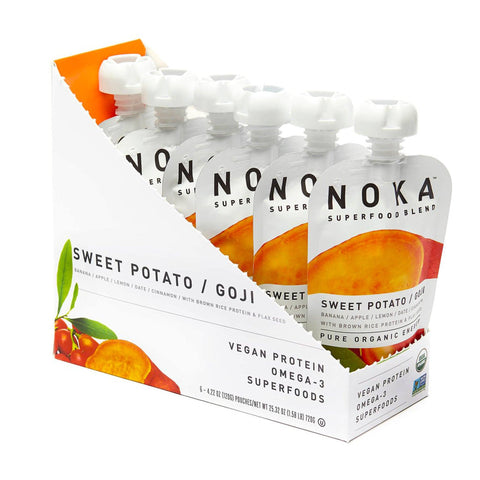 NOKA Sweet Potato Goji Superfruit Smoothie - 6 Count