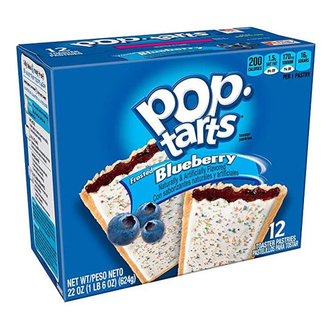 Pop-Tarts Frosted Blueberry (3.6oz) - 6 Count