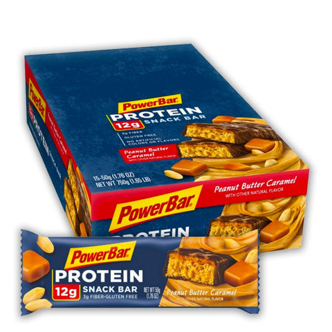 POWERBAR Peanut Butter Caramel 1.76 oz. Protein Snack Bars - 15 Count