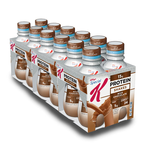 KELLOGG'S SPECIAL K Chocolate Protein Shake - 12 Count