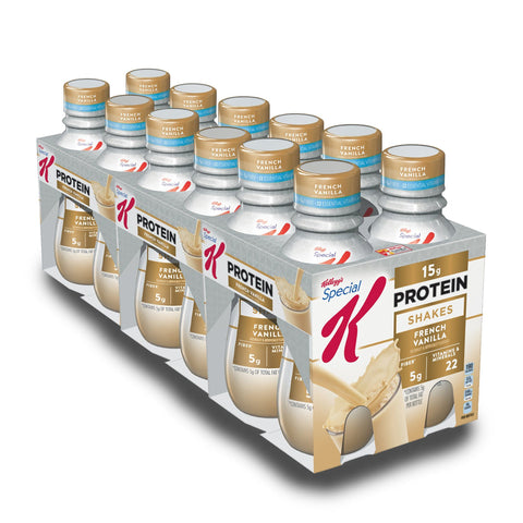 KELLOGG'S SPECIAL K French Vanilla Protein Shake - 12 Count