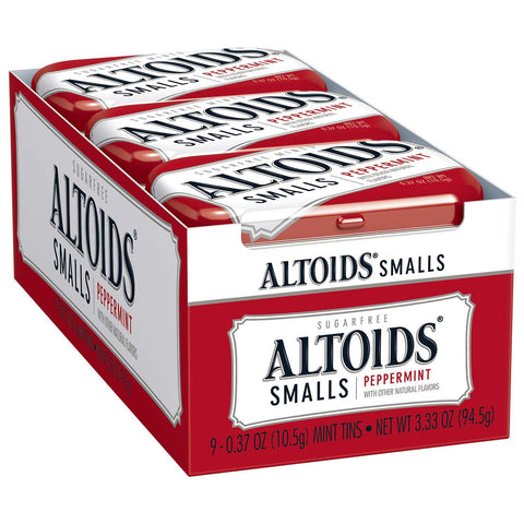 Altoids Smalls Peppermint Breath Mints (.37 oz.) Tin - 9 Count