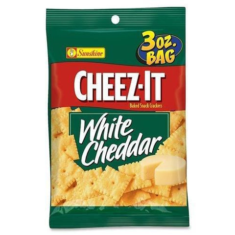 Cheez-It White Cheddar Crackers (3 oz.) Bags - 6 Count
