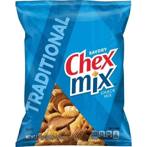 Chex Mix Traditional Blend (3.75 oz.) - 8 Count