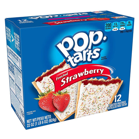 Pop Tarts Strawberry (3.6oz) - 6 Count