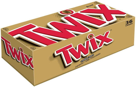Twix Cookie Bars Packs (1.79 oz.) - 36 Count Box