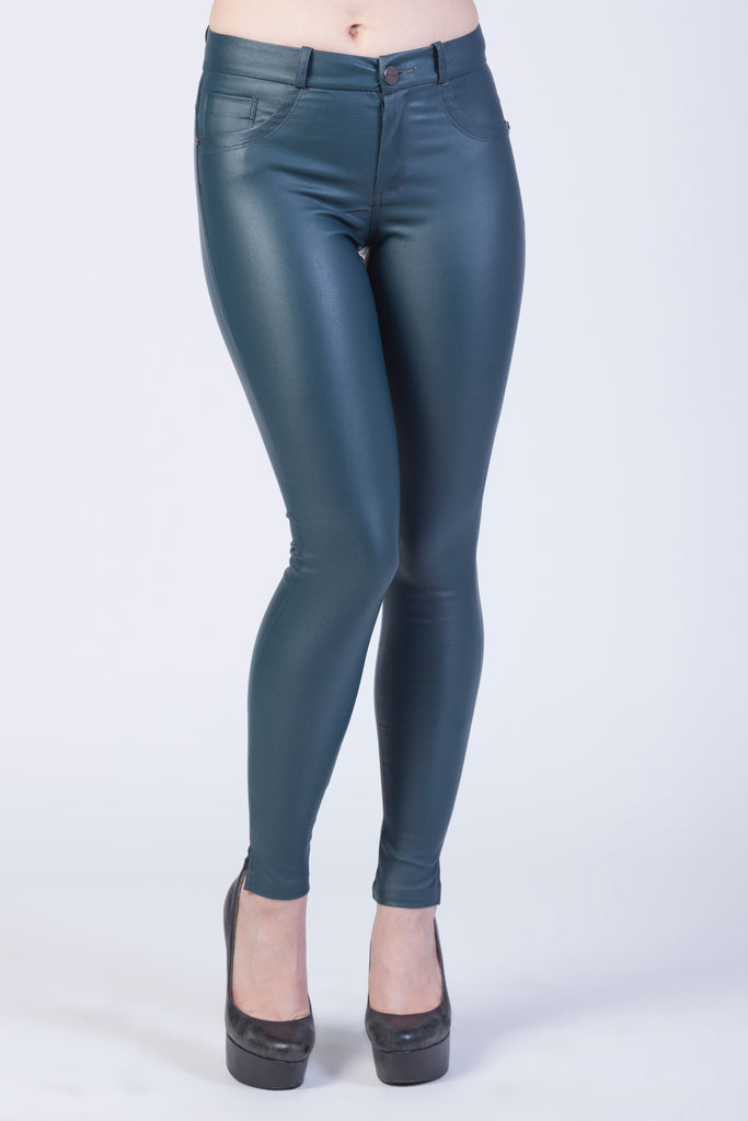 #32255 Push Up in Faux-Leather