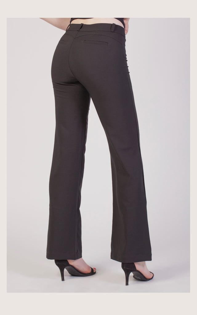 The Wow sale! #32257 Wide-leg hight-rise trouser