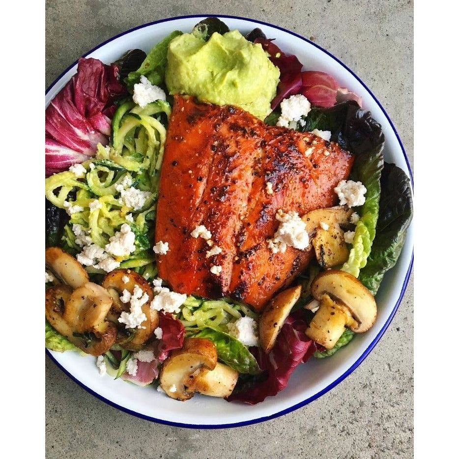 Chilli Salmon  Salad - The Organic Co.