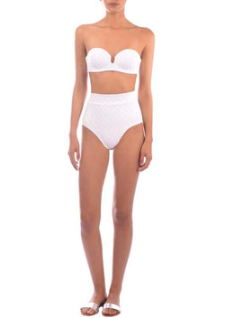 Paraiso Terrenal White Retro Bottom 19