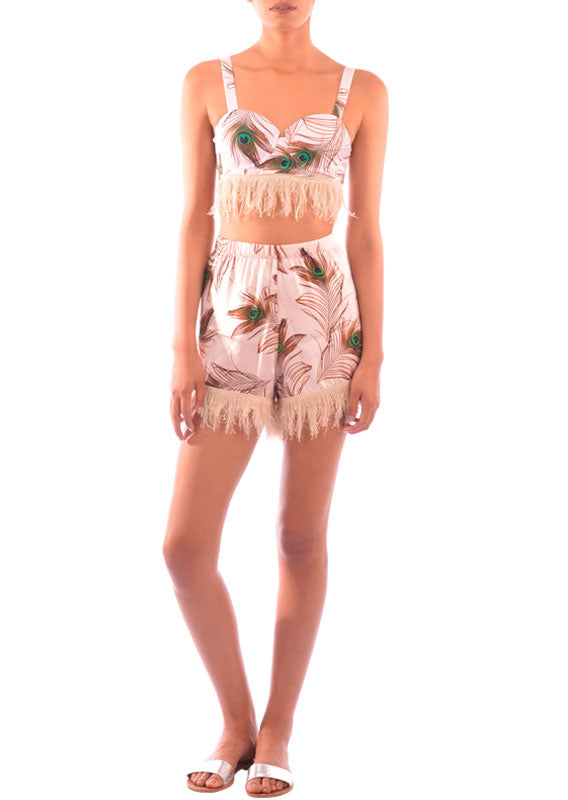 Pavo Real Rosa Short 108