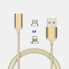 2.4A High Speed Charging Magnetic Cable for iPhone or Android Devices - TrendiaStore