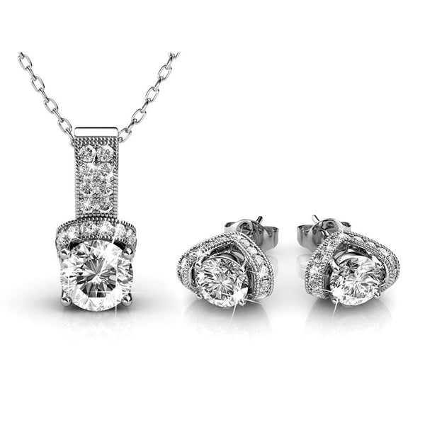 Ameya Earring Necklace Set - TrendiaStore