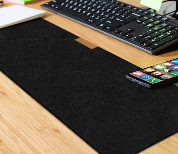 Large Felt Full Desk Coverage Gaming and Office Mouse Pad