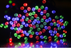 17M String of 100 LED Solar-Powered Fairy Lights-Outdoor Decorative Lights-Party Lights