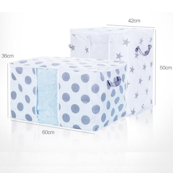 Portable Clothes Storage Bag For Pillow Quilt Blanket Bedding