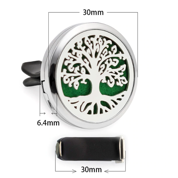 Say NO To Odor-Aromatic-Essential Oil Car Diffuser Vent Clip Locket (30mm)