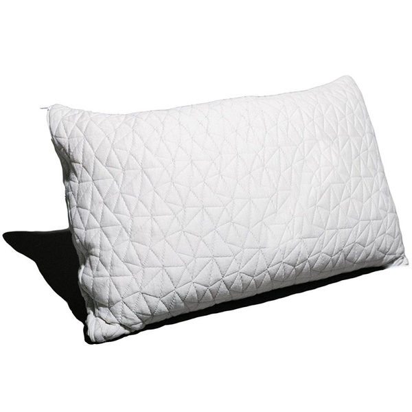 Hypoallergenic Shredded Memory Foam Pillow With Removable Bamboo Soft Pillow Cover