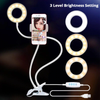 2 in 1 Mobile Phone Holder With Light