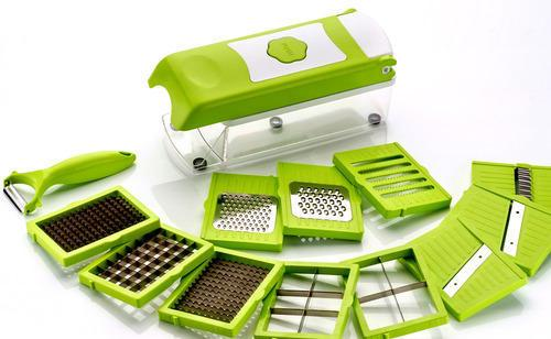 12-Piece Kitchen Wizard For Cutting, Slicing, Shredding And Grating - TrendiaStore