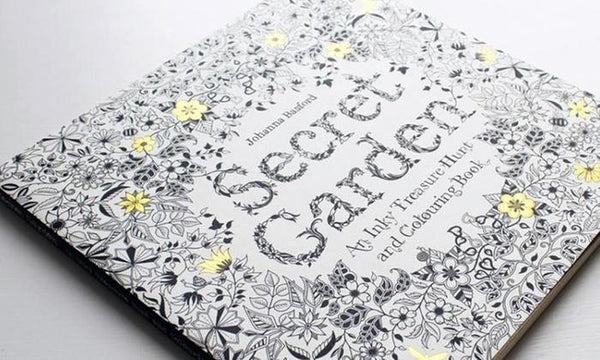 Doodle Art Adult Coloring Book By Secret Garden - TrendiaStore