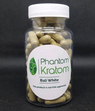 Load image into Gallery viewer, Bali White Kratom Capsules