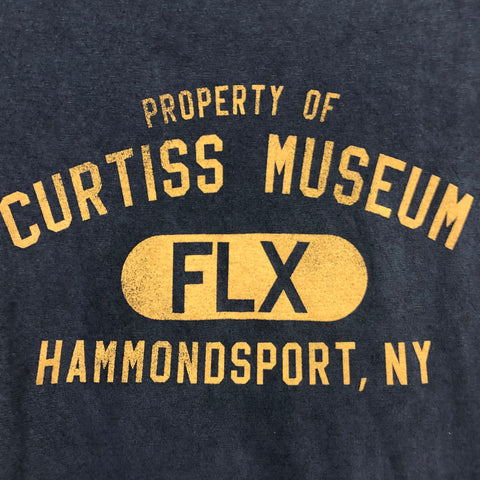 Scoop Bottom Curtiss Museum Tee