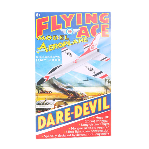 Flying Ace Foam DARE-DEVIL Glider