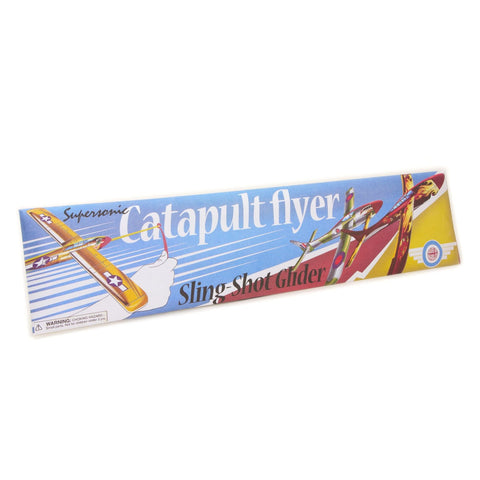Catapult Flyer-Sling Shot Glider