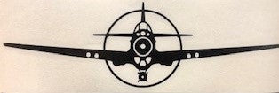 P-40 Warhawk 8'' Car Decal