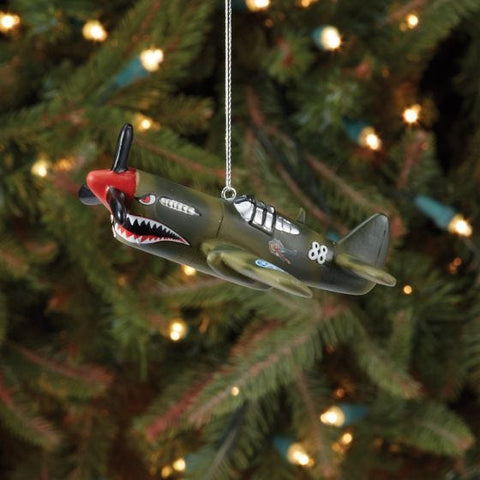 P-40 Flying Tigers Christmas Ornament