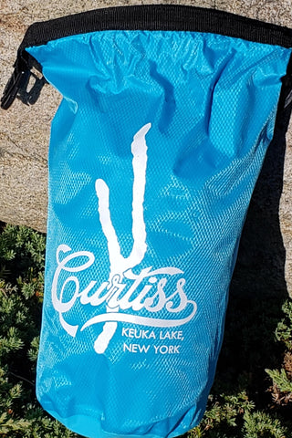 Blue bag Curtiss Keuka Lake design