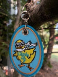 Chicks Fly Key Chain