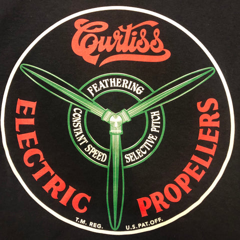Curtiss Electric Propeller T-Shirt