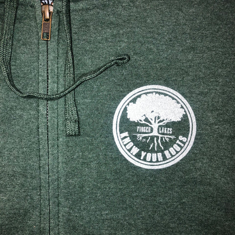 Know Your Roots Zip-Up Hoodie