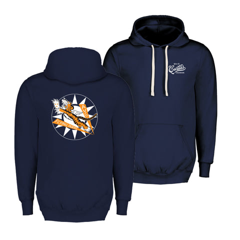 Flying Tigers Hooded Sweatshirt - Navy