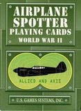 WWII Airplane Spotter Playing Cards