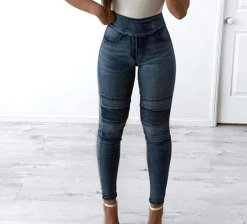 Wide band jean