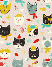 Winter Kitties Holiday Greeting Card