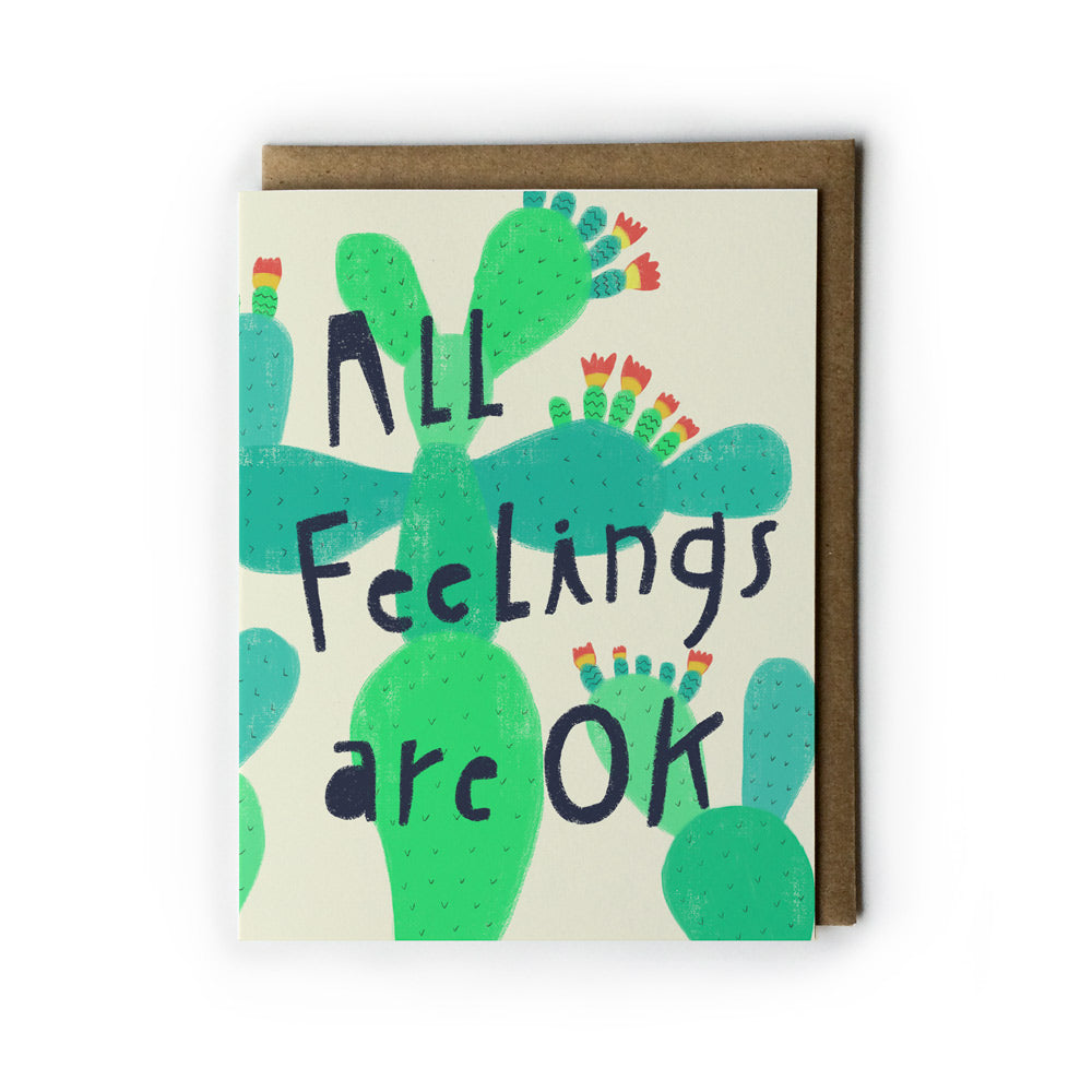 All Feelings Are OK Note Card