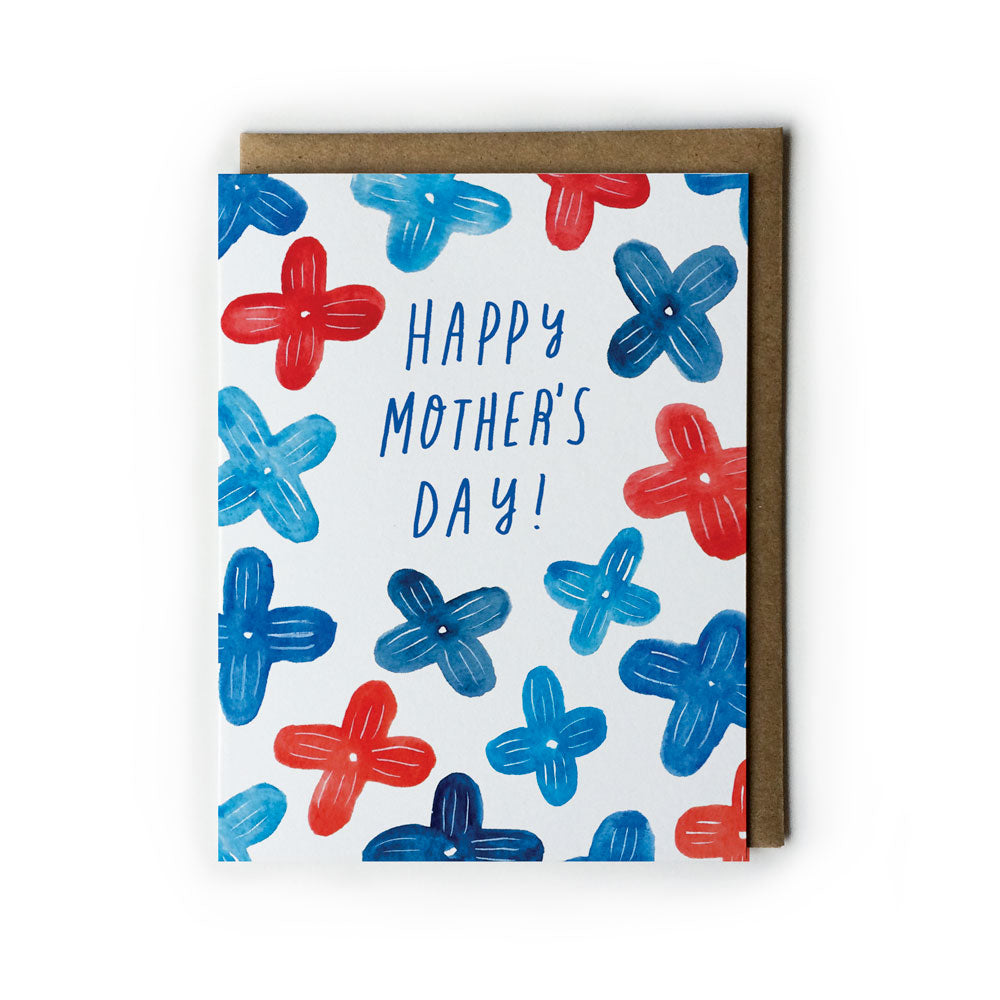 Blue Lilac Mother's Day Card