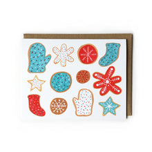 Christmas Cookies Holiday Greeting Card Set - Set of 8