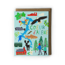 Coeur d'Alene Greeting Card