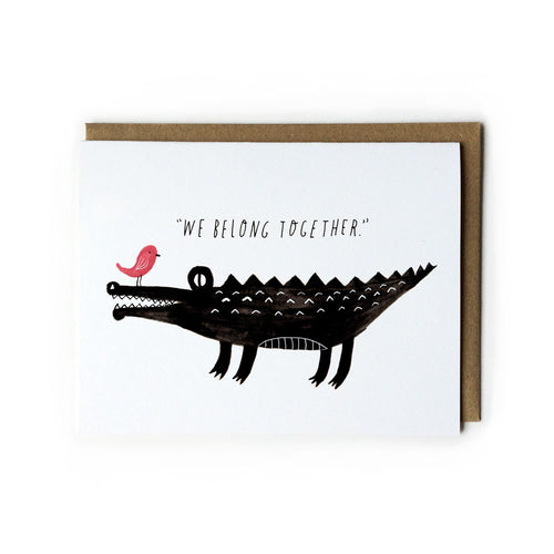 We Belong Together, Croc & Bird Card