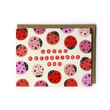 Lady Bug Valentine's Day Card