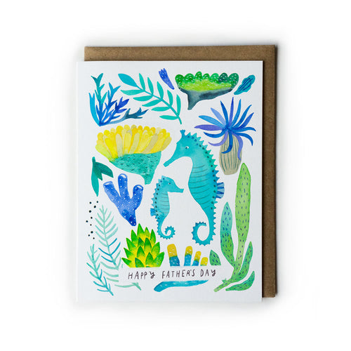 Seahorse Father's Day Card