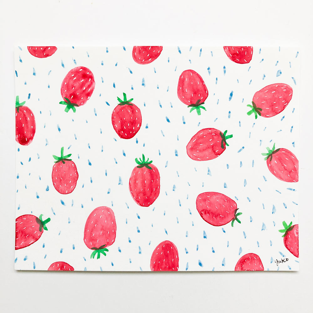 Strawberry Pattern - 5.5