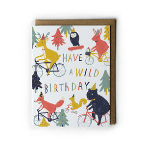Have a Wild Birthday Card