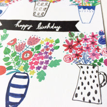 Spring Bouquet Birthday Card