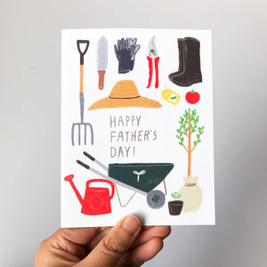 Gardening Dad Father's Day Card